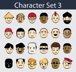 Character Icon Set 3