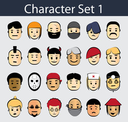 Character Icon Set 1