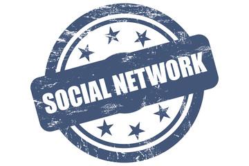 Sternen Stempel SOCIAL NETWORK