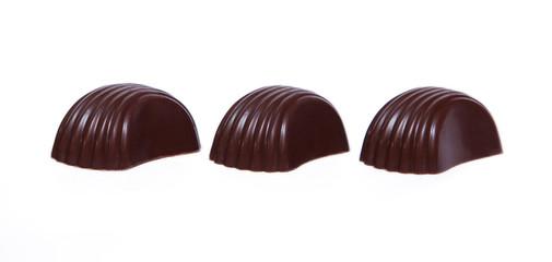Three chocolate candies