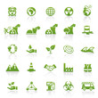 Green Website Icons - Environment, Nature & Energy