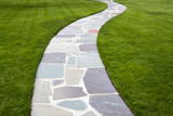 Stone Color Walkway
