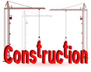The crane collects a word Construction