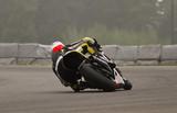 Fototapeta wyścig - grzbiet - Sporty motorowe