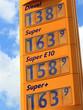 Benzin-Preise an der Tankstelle