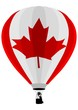 Air Balloon, Canadian Flag