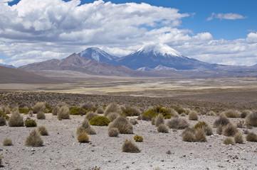 Volcán de Parinacota, Chile