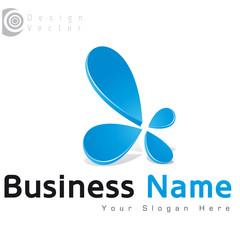 logo fleur design