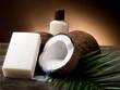 walnut coconut soap - sapone al cocco