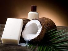 noix de coco savon - sapone al cocco