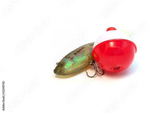 Minnow and a bob float