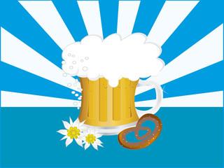 Bavarian beer mug