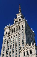 Kultur- und Wissenschafspalast in Warschau (Polen)