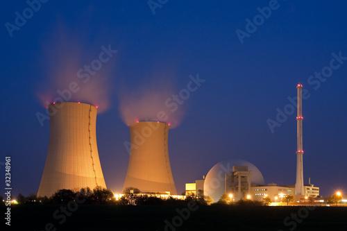 Kernkraftwerk Grohnde in Niedersachsen, Nuclear power plant