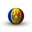 Flagge Moldau