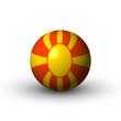 Flagge Mazedonien