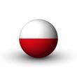 Flagge Polen