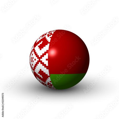 Flagge Weißrussland