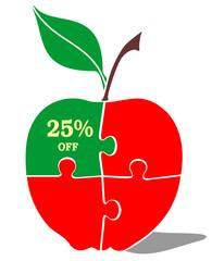 jabłko rabat