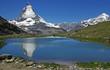 Wandern rund ums Matterhorn - Riffelsee