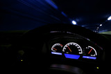 Drive fast at night