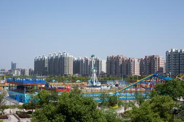 Stadtansicht von yangzhou