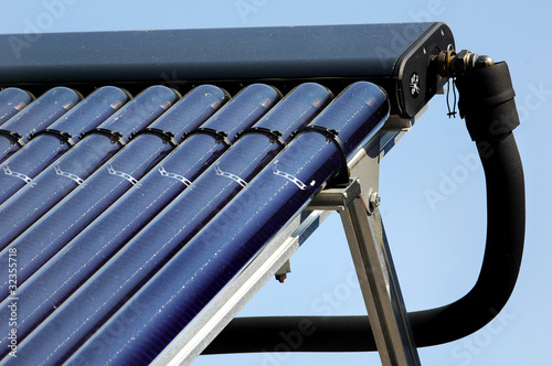 Leinwanddruck Bild Sonnenkollektor 3