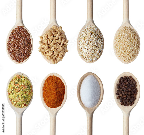 seasoning seeds cereal ingrediants food