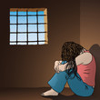 donna imprigionata