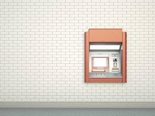 Cashpoint; 3D render