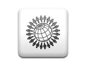 Boton cuadrado blanco Global people