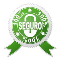 Sello SEGURO 100%