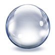 Transparent glass sphere - 32360167