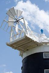 Windmill, Burnham Straithe, Norfolk,England