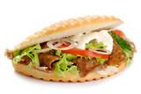 Fototapety kebab sandwich