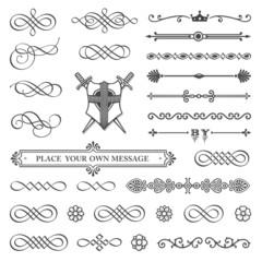 Calligraphy, Divider & Design Elements
