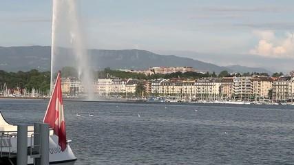 Ginebra lago Lemán