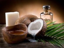 naturel de noix de coco huile de noix et du savon