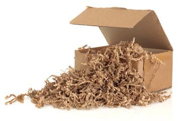Cardboard Box and Filler