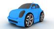 Mini Car blue