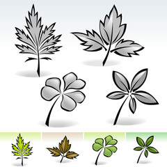 New ! Nature's Leaf Collection