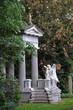 Mausoleum mit Engel