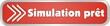 bouton simulation prêt
