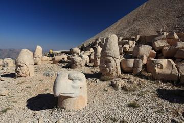 Ruins on Nemrut Gagi mountain, Turkey