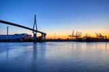 Köhlbrandbrücke in Hamburg - 32373559