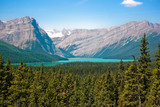 Kanadische Wildnis im Banff National Park