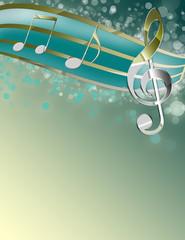 Beautiful Music Notes!