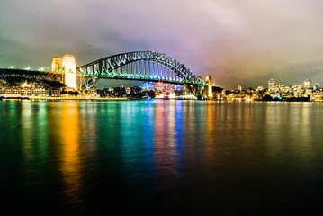 Harbourbridge - Sydney - night