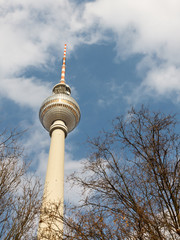 Berliner Fernsehturm (TV Tower), Berlin, Germany