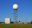 national weather service doppler radar dome